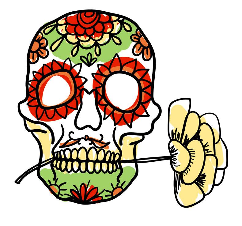 Sugar Skull clipart 9