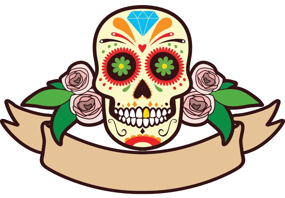 Sugar Skull clipart download