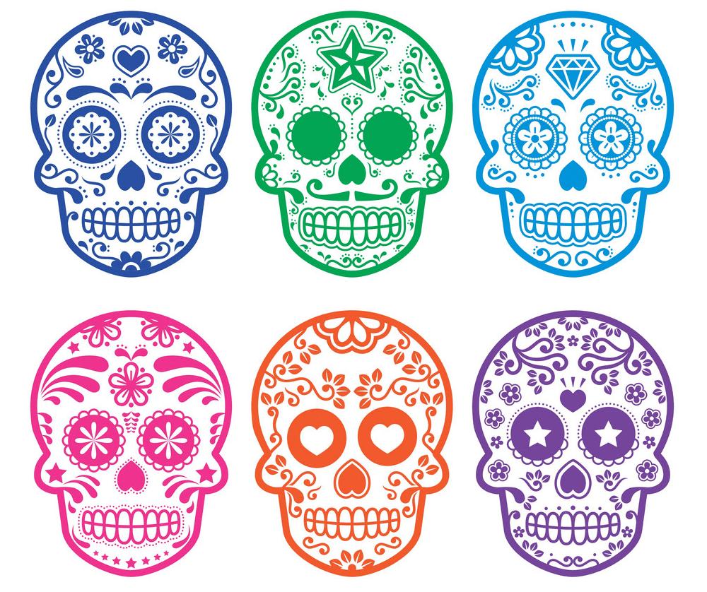 Sugar Skull clipart free download