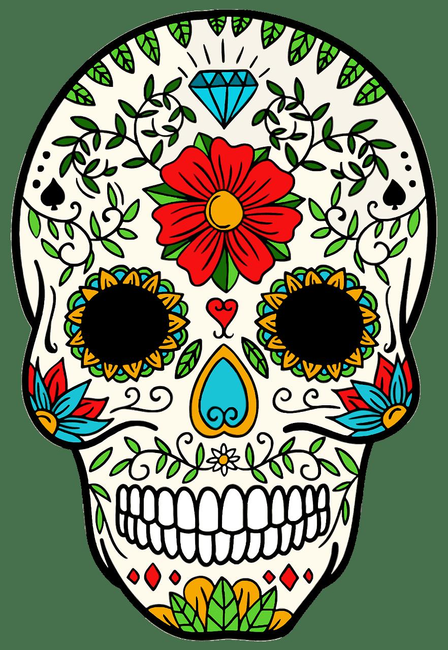 Sugar Skull clipart transparent 3