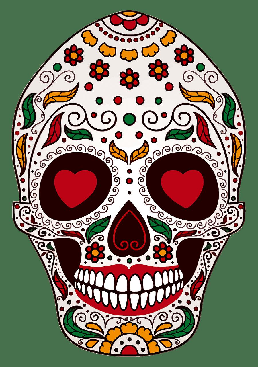 Sugar Skull clipart transparent 5