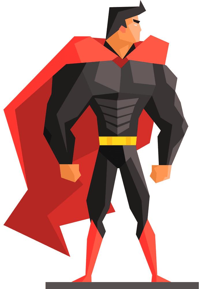 Superhero clipart 1