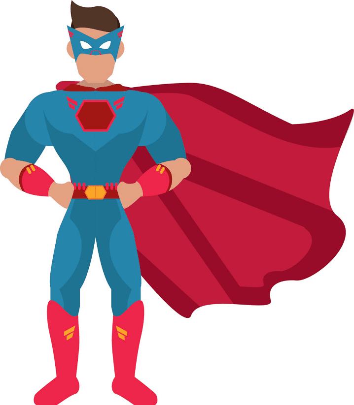 Superhero clipart 7