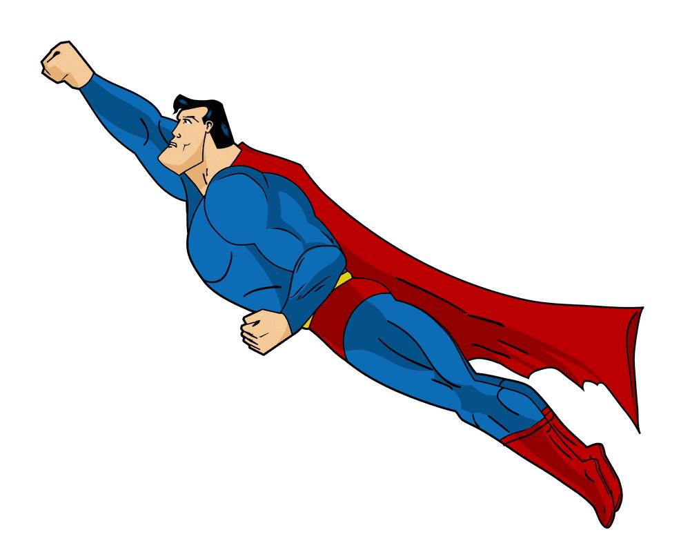 Superhero clipart 9
