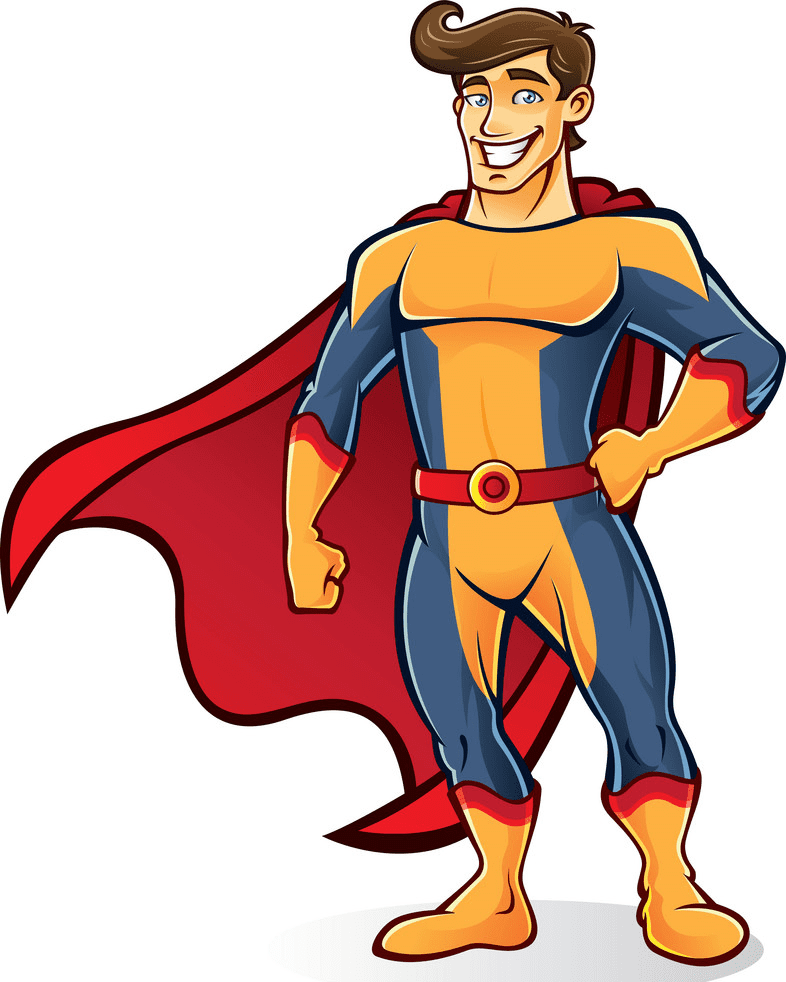 Superhero clipart download