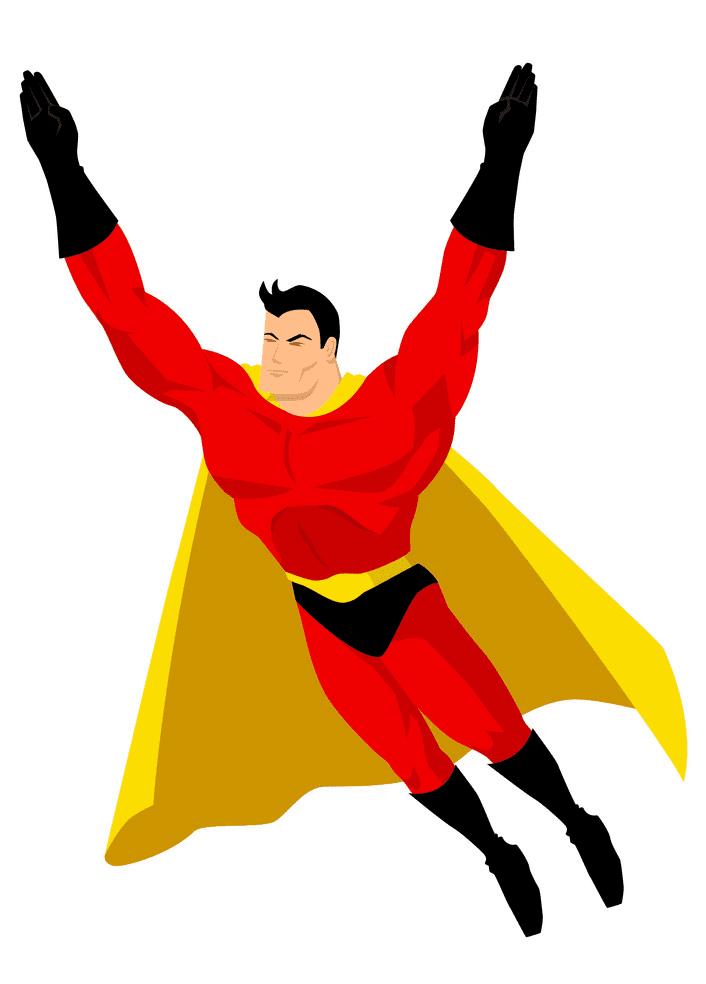 Superhero clipart for free
