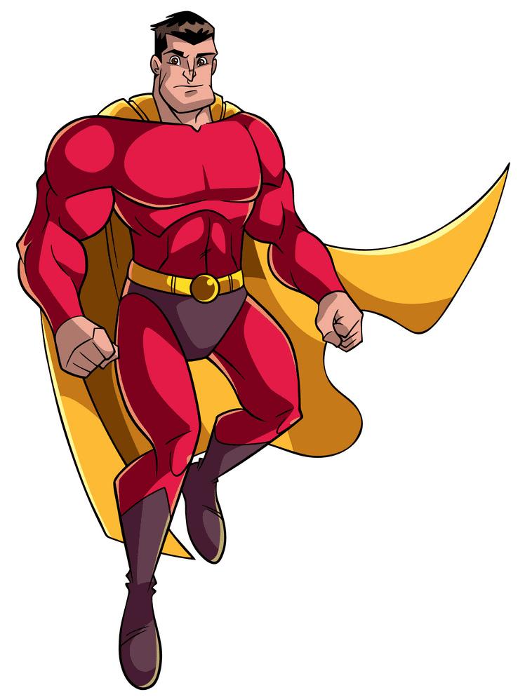 Superhero clipart for kid
