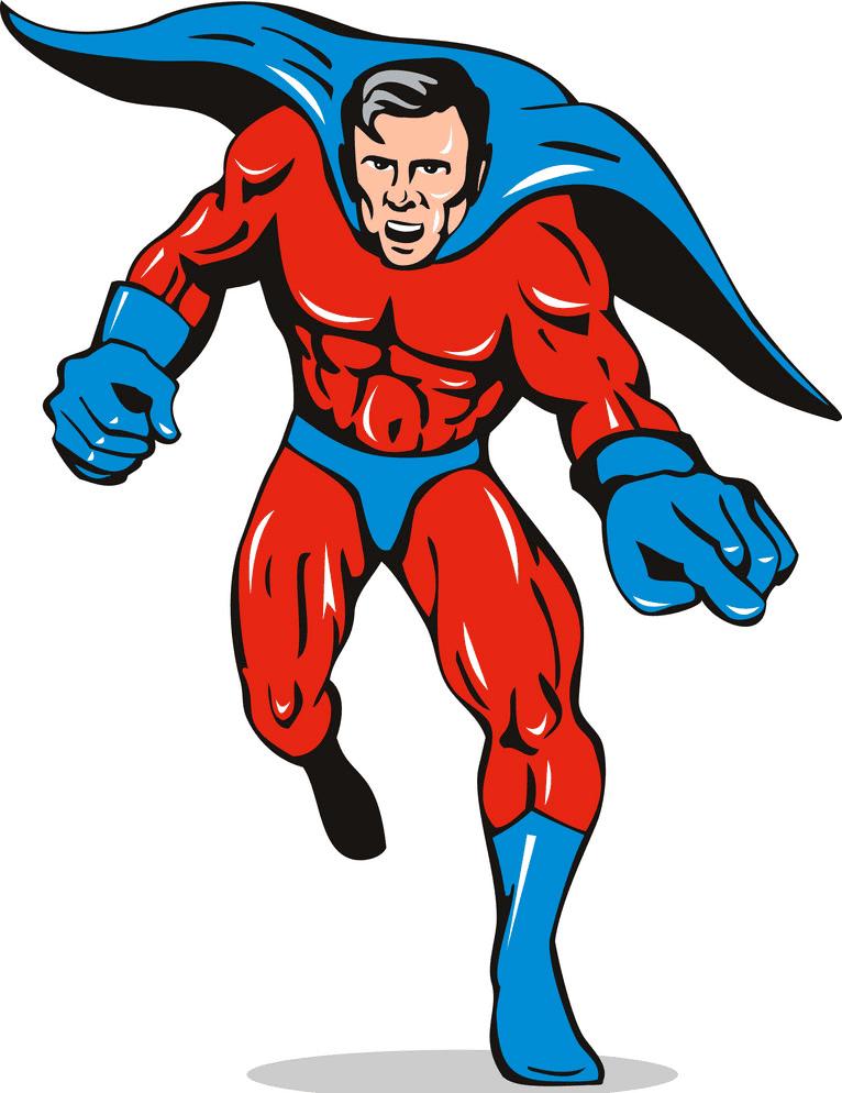 Superhero clipart free 3