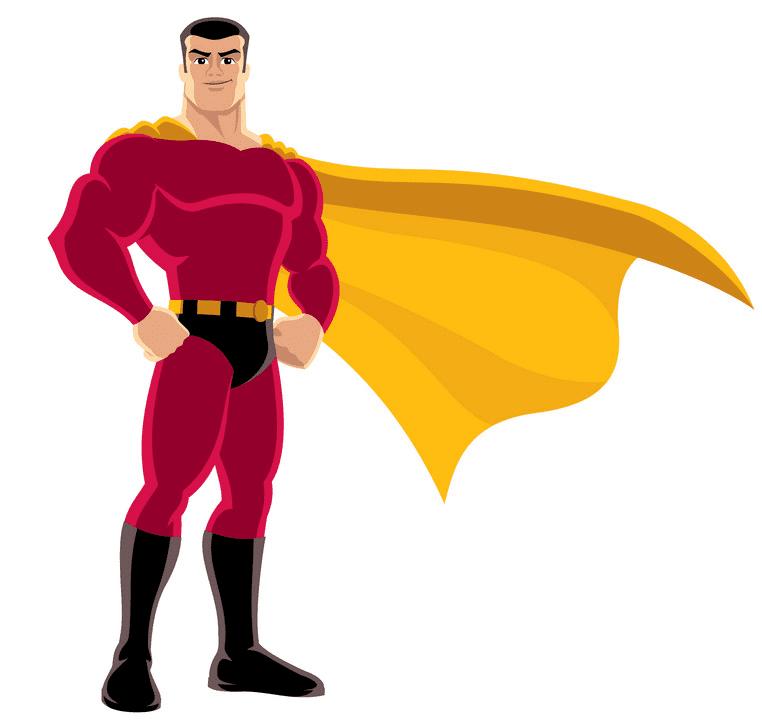 Superhero clipart images