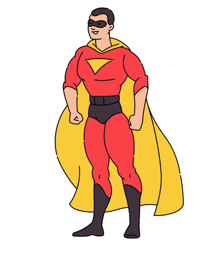 Superhero clipart png free