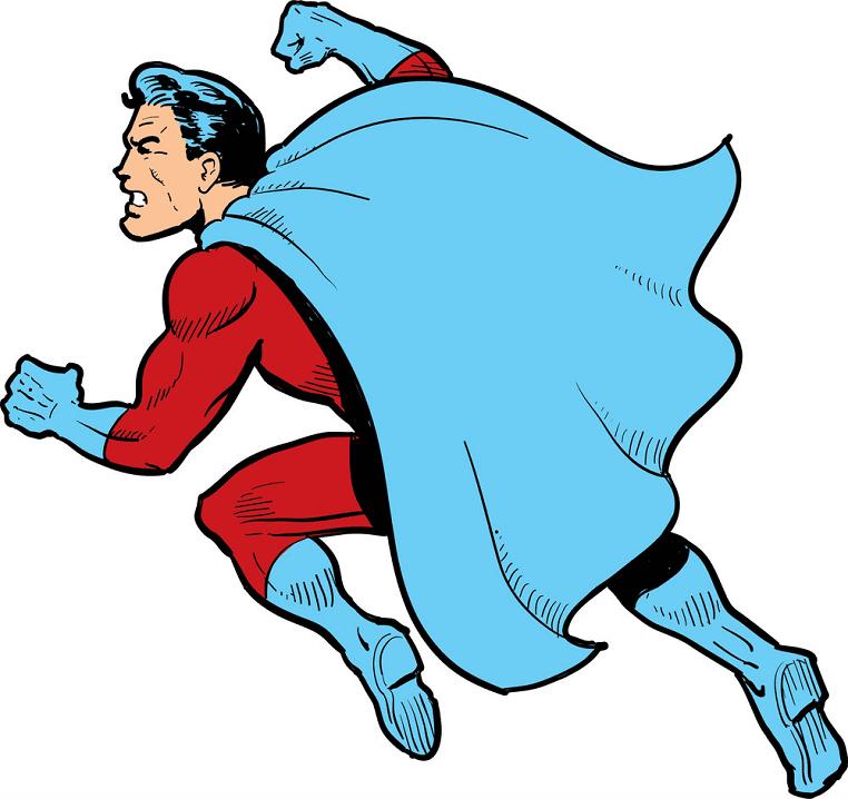 Superhero clipart png image