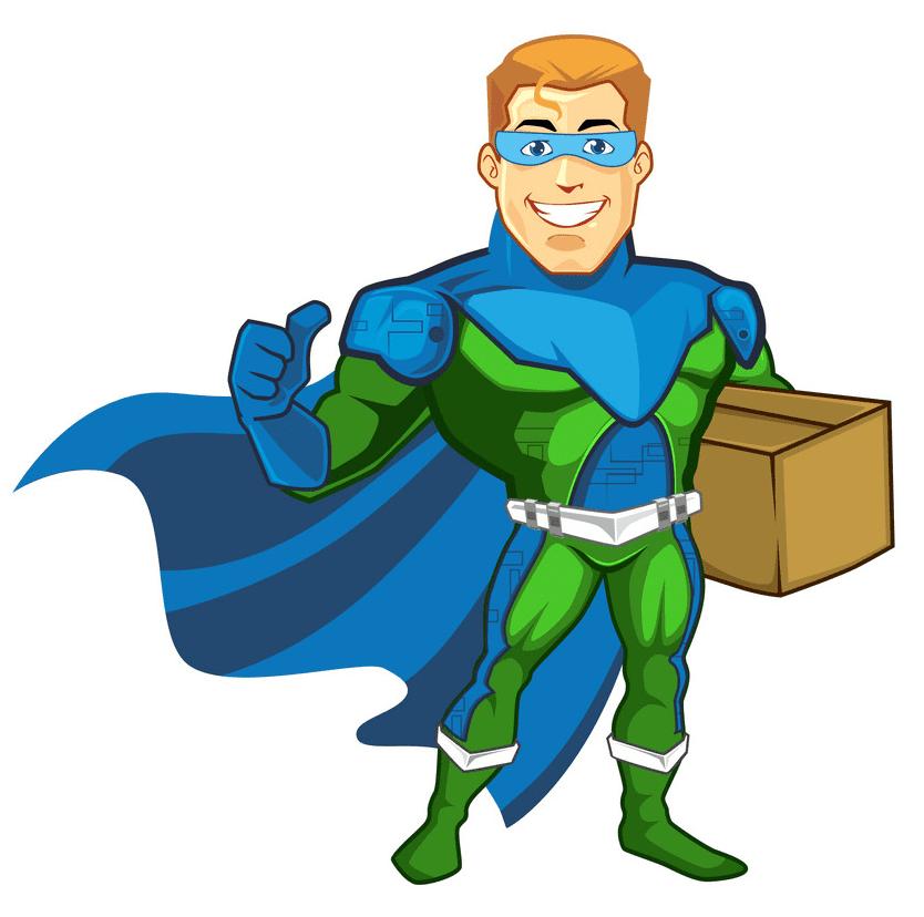 Superhero clipart png images