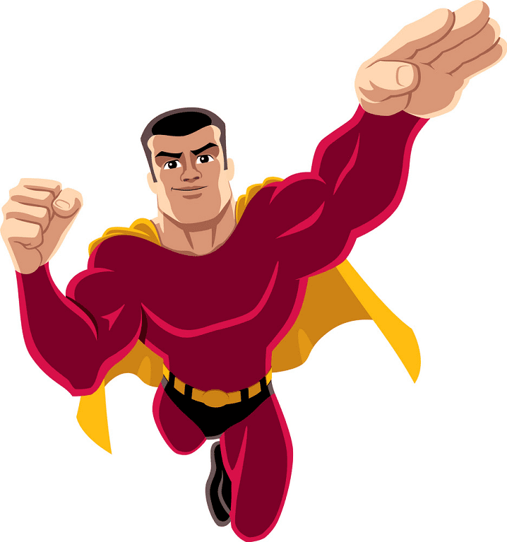 Superhero clipart png picture