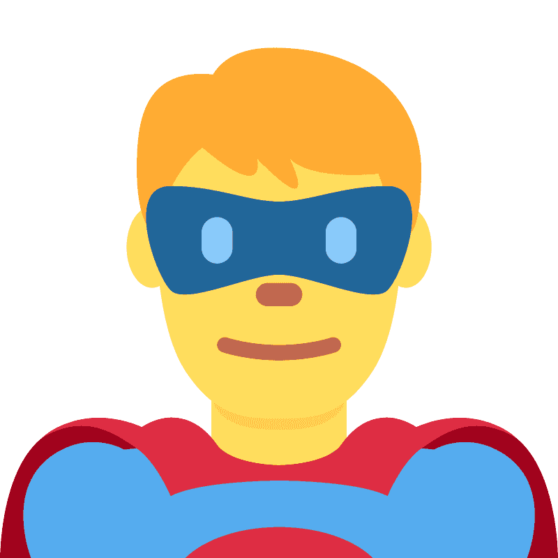 Superhero clipart transparent 5