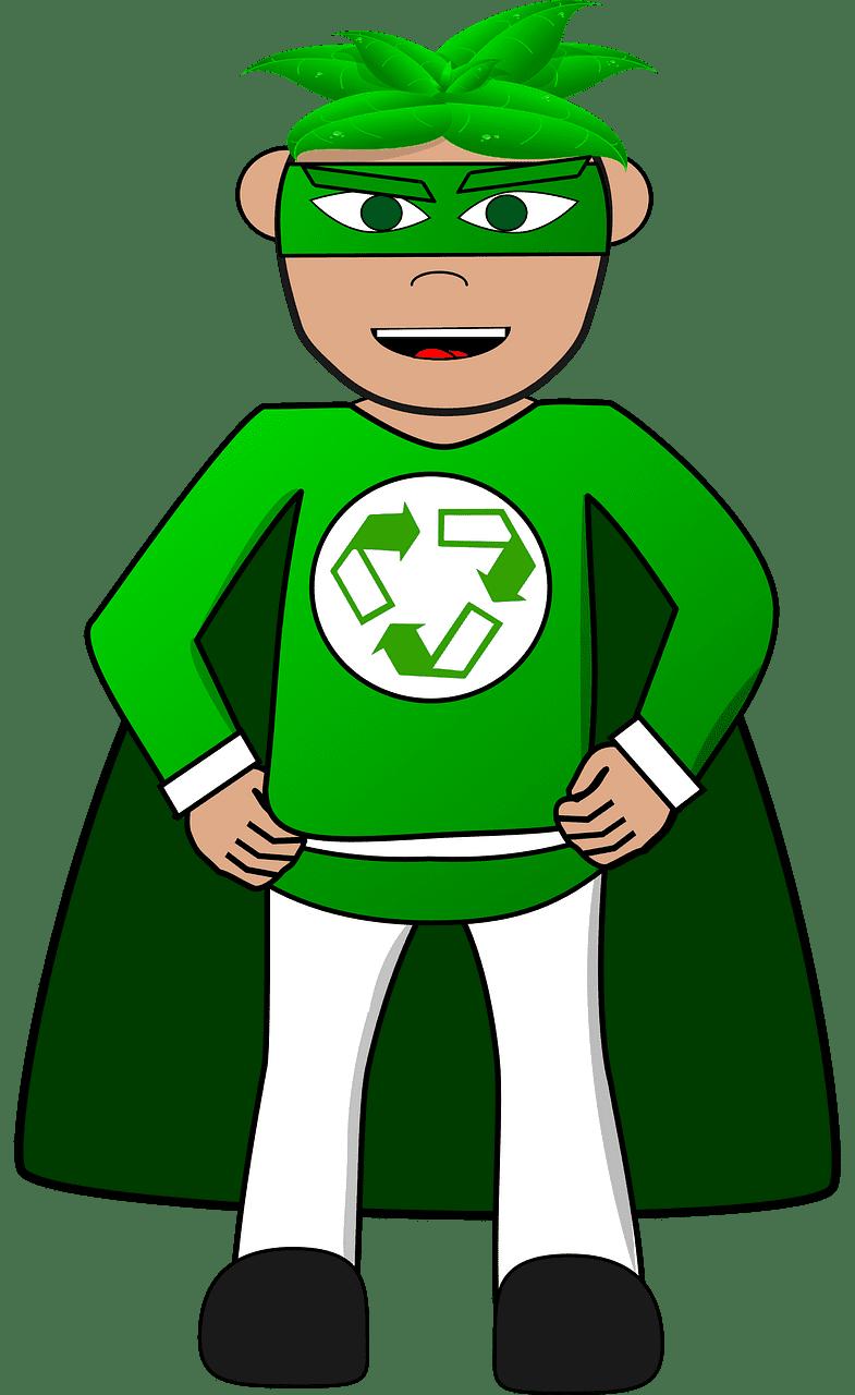 Superhero clipart transparent 6