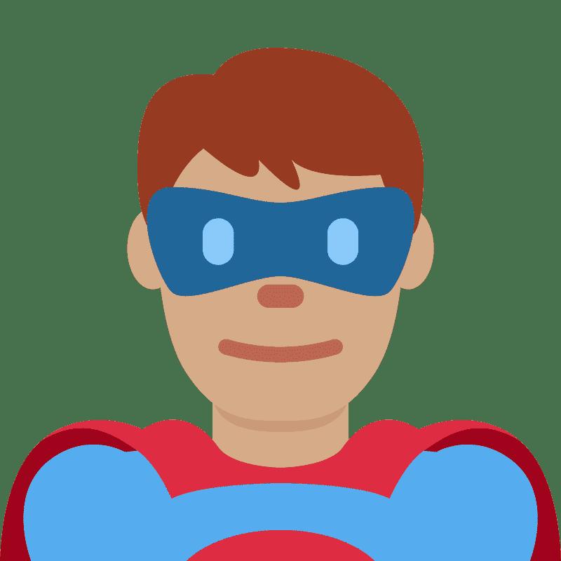 Superhero clipart transparent 7