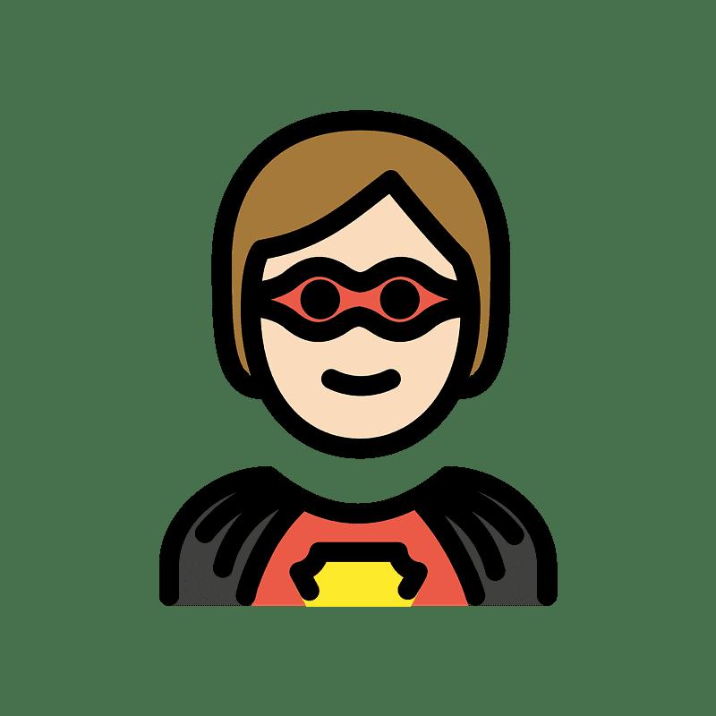 Superhero clipart transparent image
