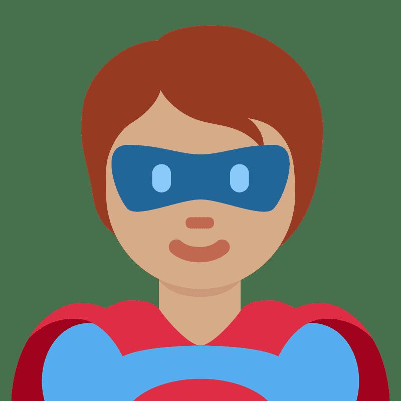 Superhero clipart transparent images