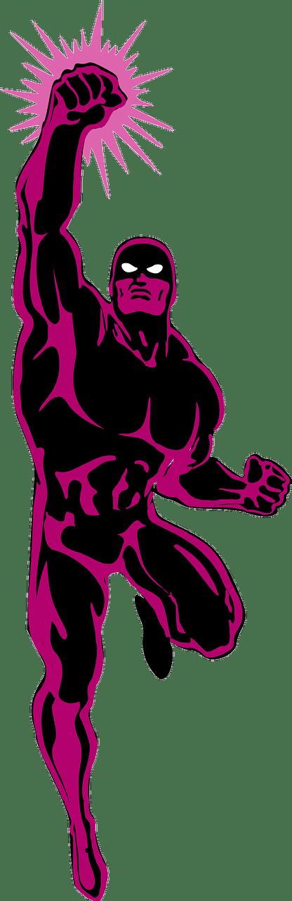 Superhero clipart transparent picture