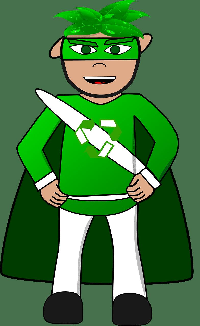 Superhero clipart transparent png