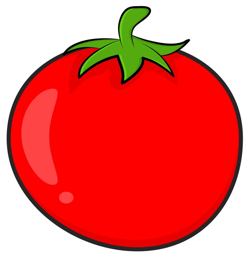 Tomato clipart 2