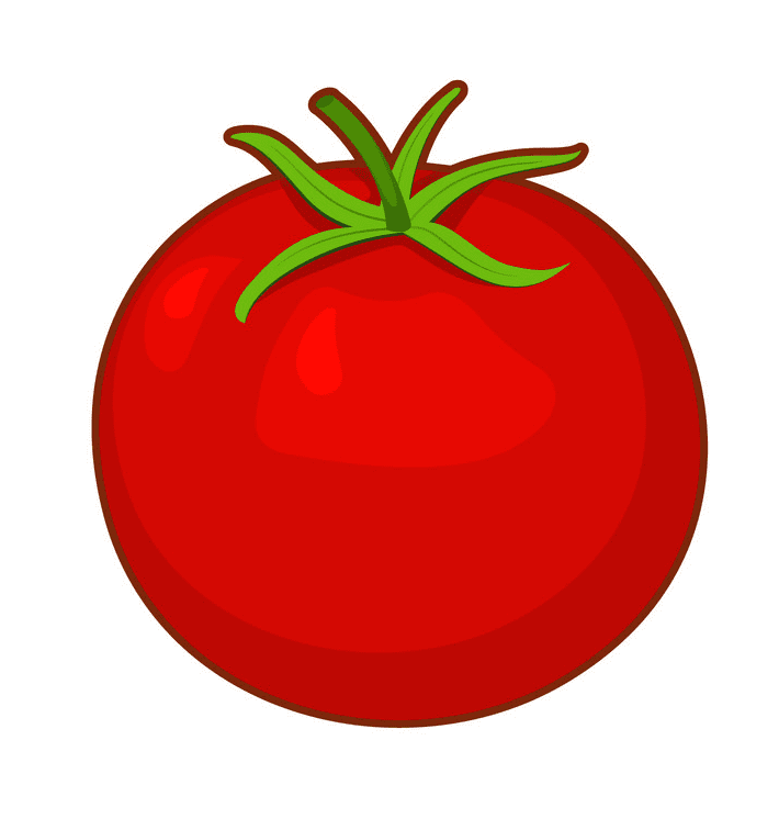 Tomato clipart 3