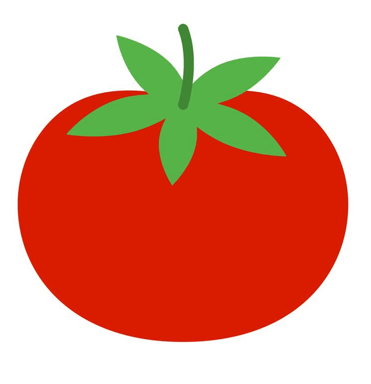Tomato clipart free for kid