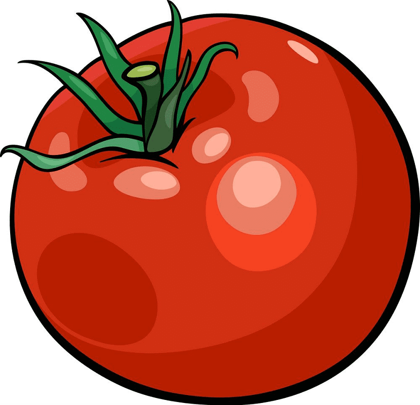 Tomato clipart free for kids