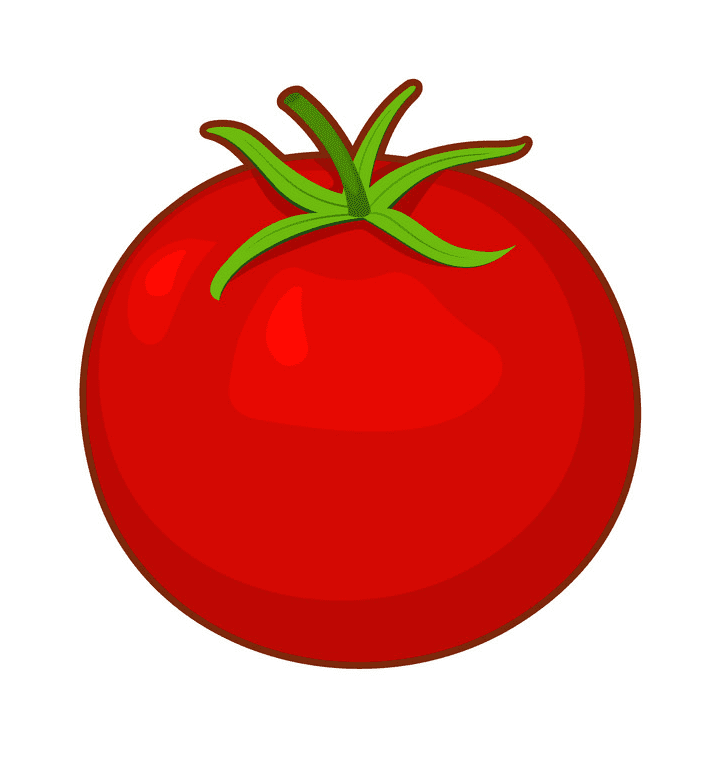 Tomato clipart png for kid