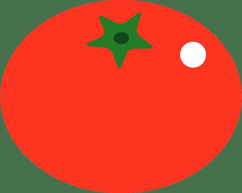 Tomato clipart transparent 8