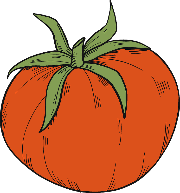 Tomato clipart transparent for free