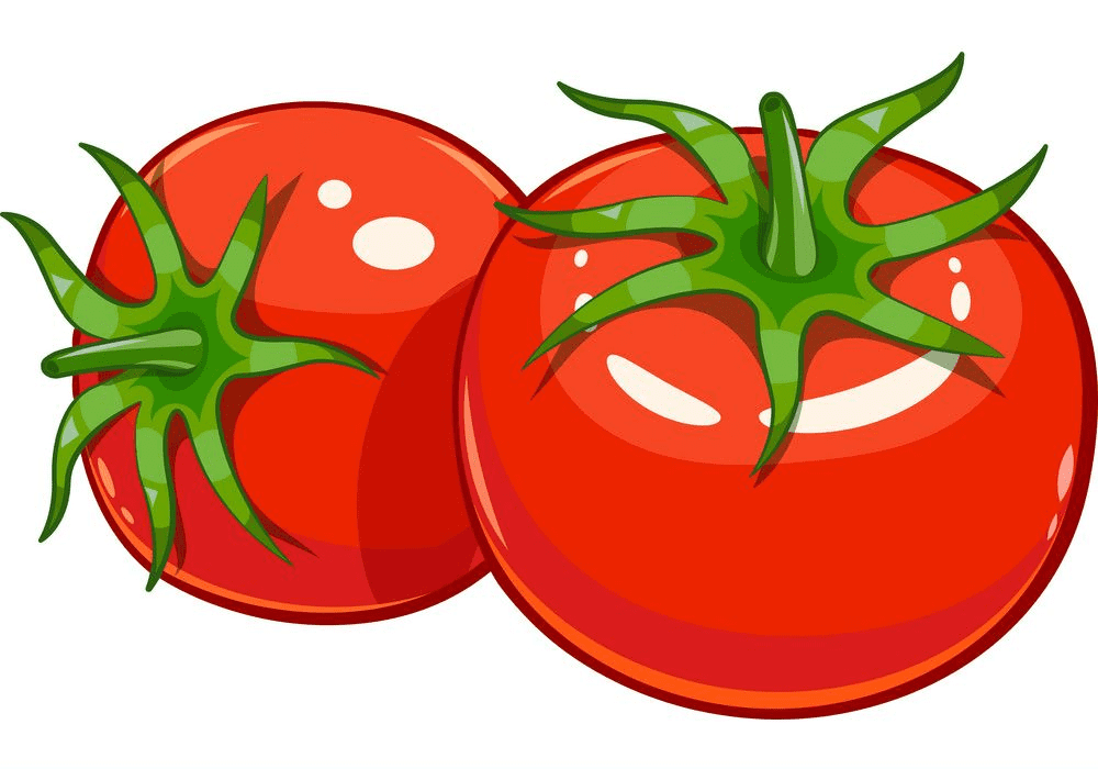 Tomatoes clipart for kid