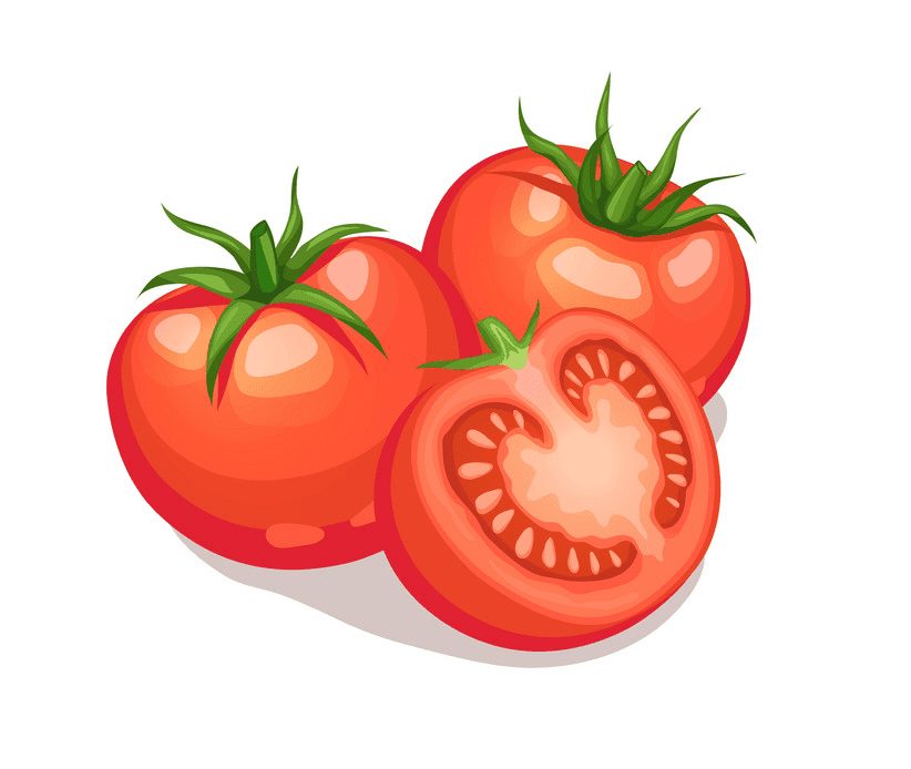 Tomatoes clipart free