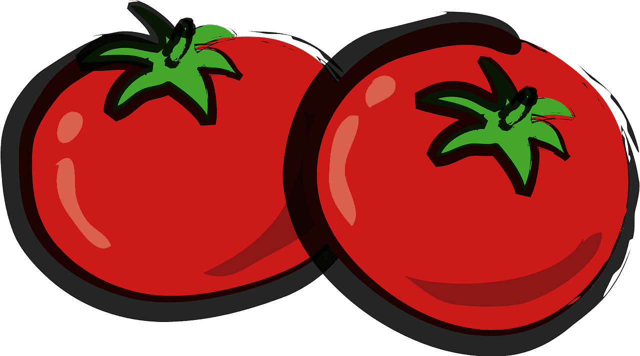 Tomatoes clipart transparent 1