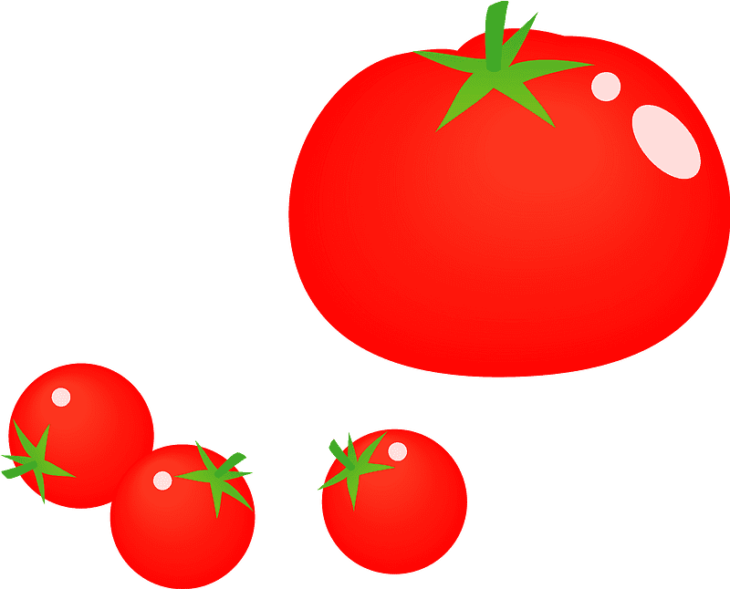 Tomatoes clipart transparent 2