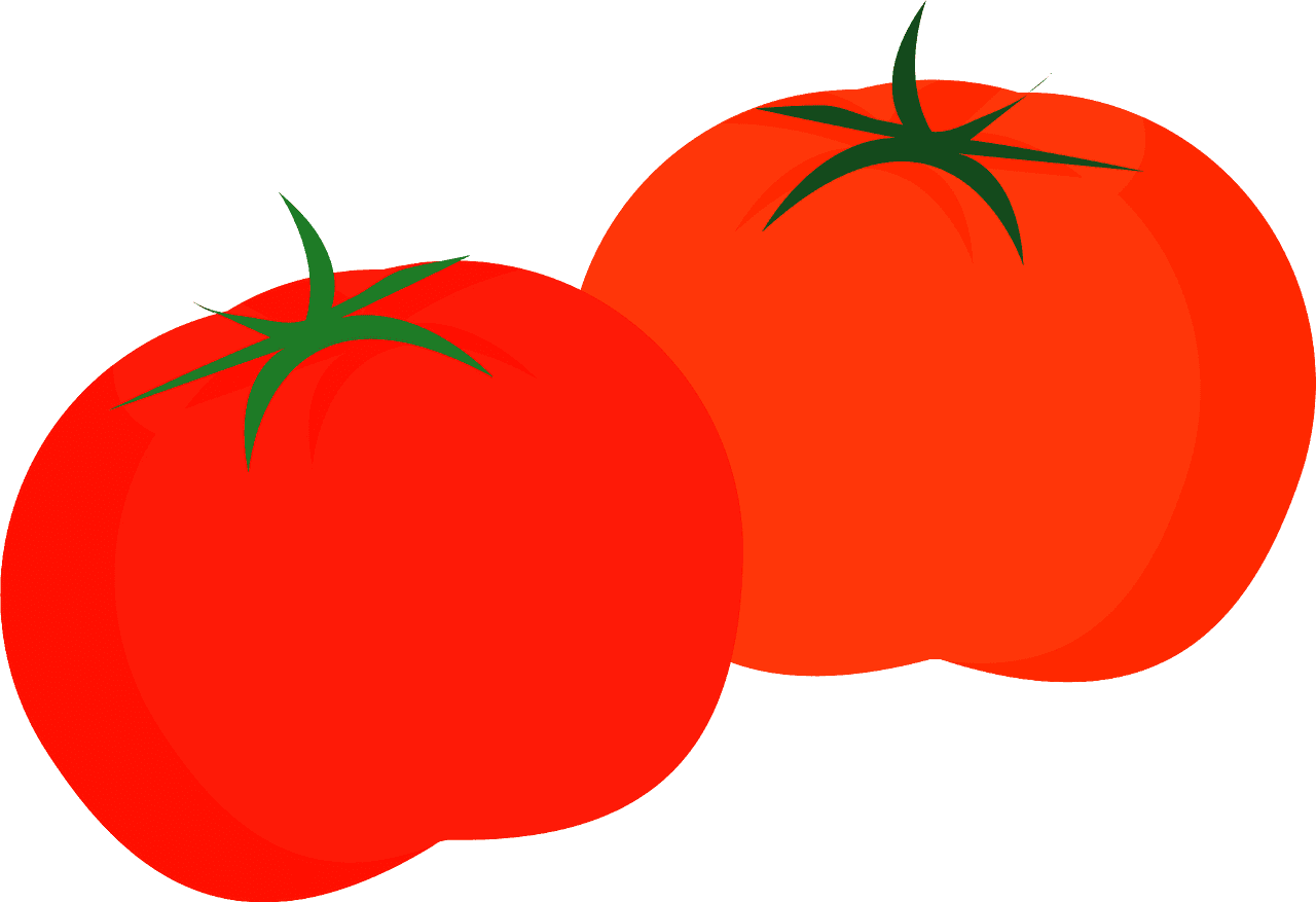 Tomatoes clipart transparent for kids