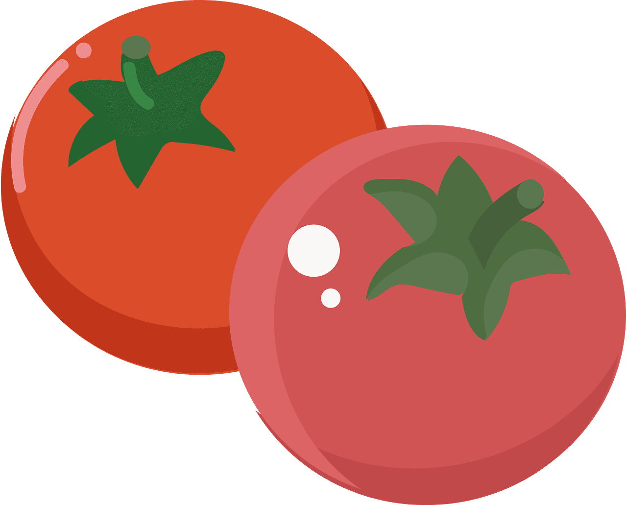 Tomatoes clipart transparent