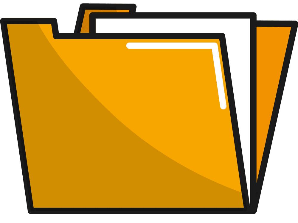 Yellow Folder clipart download