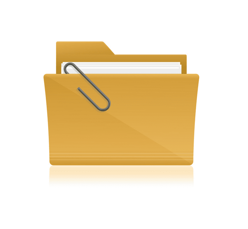 Yellow Folder clipart png images