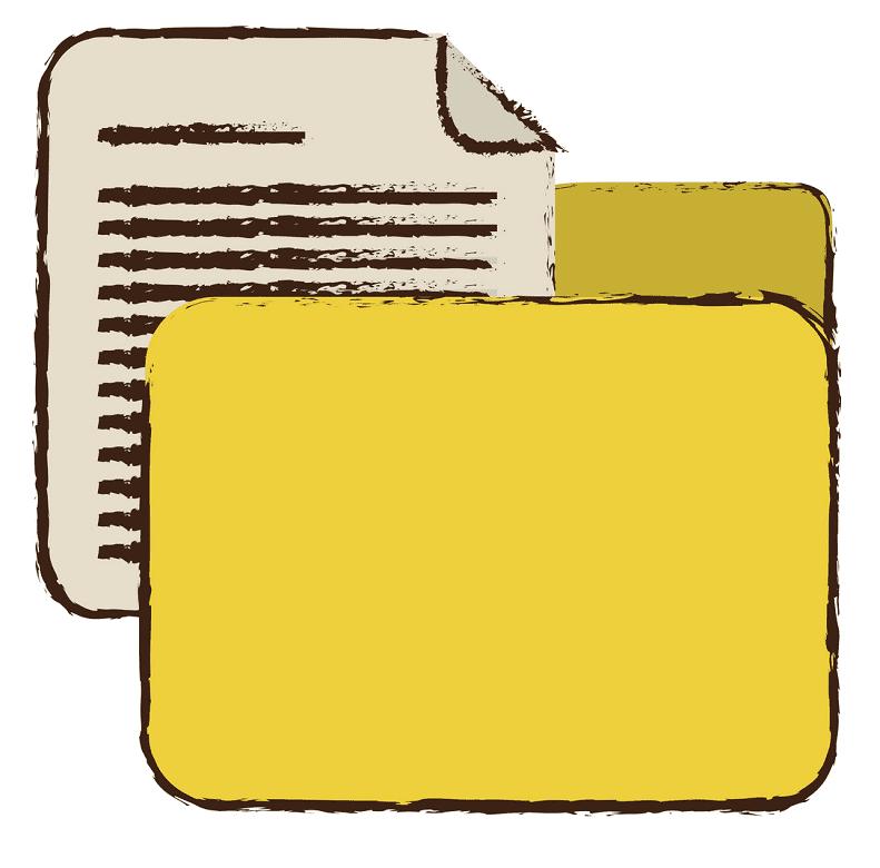Yellow Folder clipart png