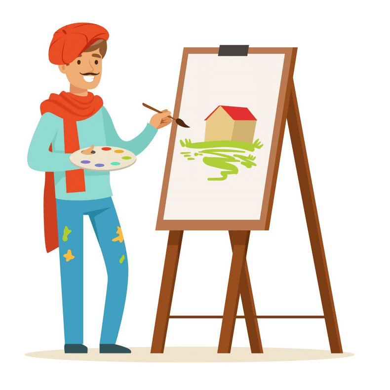 Artist clipart for free