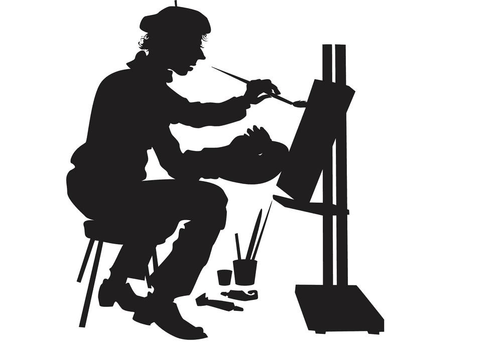Artist clipart free 3