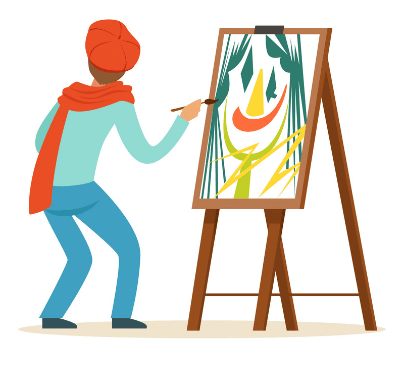 Artist clipart free download