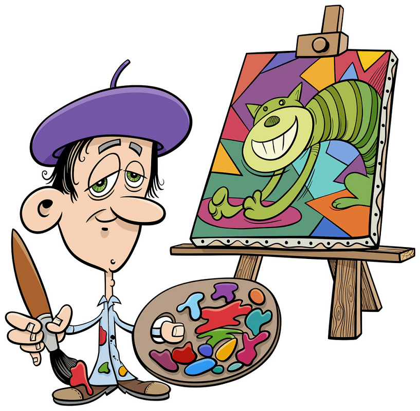 Artist clipart png download