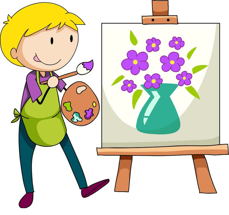 Artist clipart png for kid