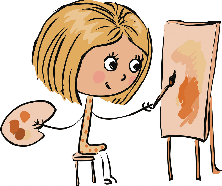 Artist clipart png image