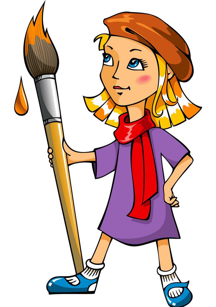 Artist clipart png images