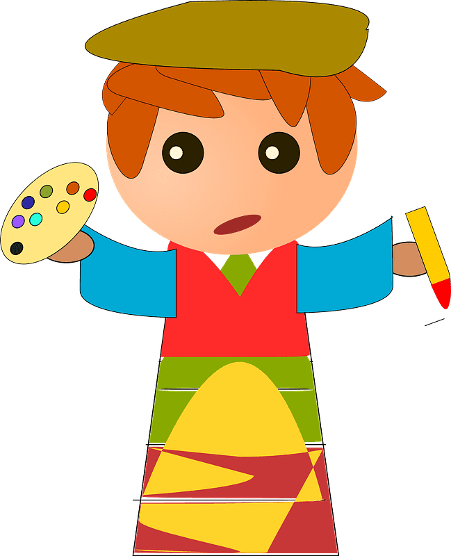 Artist clipart transparent for free