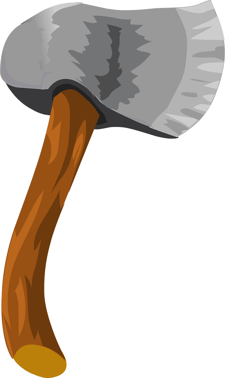 Axe clipart transparent background 1