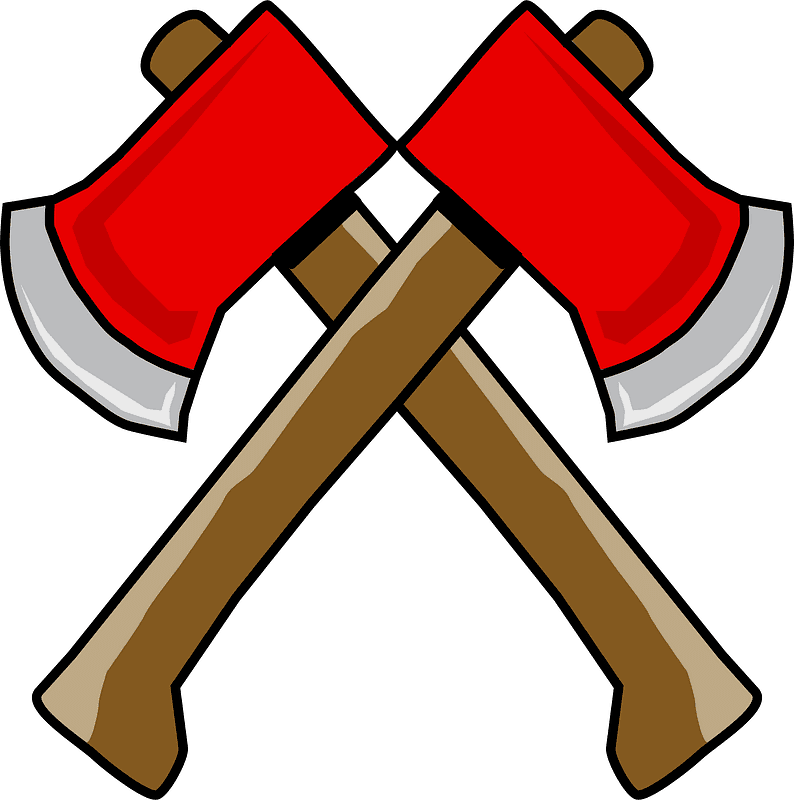 Axes clipart transparent image